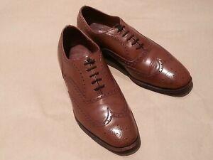 Church Shoes - SMART BROWN BROGUES - 8 - LITTLE WEAR (RRP £400)