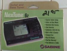 """Sabine """"Nextune"""" Guitar & Bass Tuner, mod. 6z"""