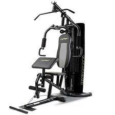 HPF Home Gym Station - Multi Cable Bench Press Preacher Machine Back Equipment