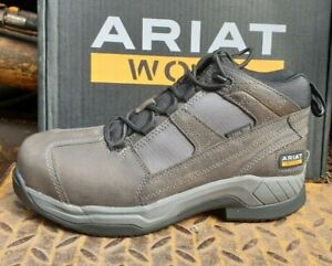 Men's Ariat Contender Steel Toe Lace Up Ankle Boots