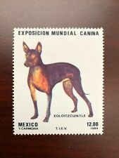 Mexico 1984 Scott #1348 Mexican Hairless Dog Mint Nh