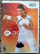 Wii Active Personal Trainer Exercise Fitness Game