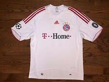 Men's XL adidas 2008/09 FC Bayern Munich Third Soccer Jersey Lukas Podolski #11