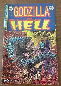 2015 Toho IDW Publishing Godzilla In Hell No #1 Jeff Zornow Homage Variant Cover