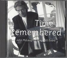 JOHN MC LAUGHLIN / TIME REMEMBERED - PLAYS BILL EVANS - CD
