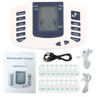 New Tens Unit Tens Massager Electrical Stimulation Muscle Therapy Pain Relief US