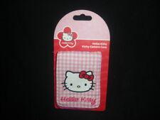 Hello Kitty Tela Vichy cámara caso, sin usar