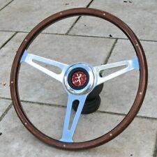 Volant Bois 38cm Complet  Peugeot 304 204  504 & Autres Anciennes