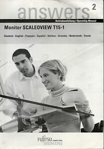 answers² - Betriebsanleitung Monitor SCALEOVIEW T15-1