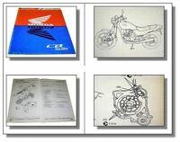 Werkstatthandbuch Honda CB250 CB 250 Two Fifty Motorrad Reparaturanleitung