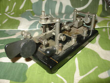 1928 Vibroplex Lightening Bug 796 Fulton St NY SN 103030 Black Cast Base
