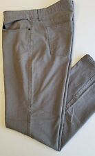 Kenneth Cole Reaction Mens 38/32 Pre-Owned Gray Stretch Denim