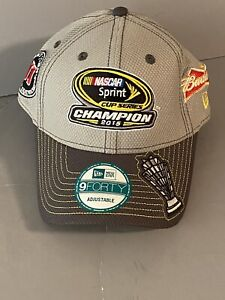 Kevin Harvick 2015 NASCAR Sprint Cup Champion Hat Jimmy Johns Budweiser New Era