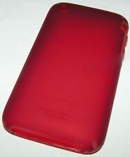 Speck SeeThru Satin Hard Shell case for iPhone 3G/3GS, Translucent matte Red