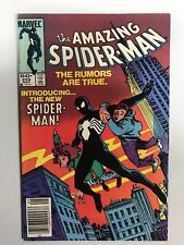 Amazing Spider-Man (1st Series) #252 1984 VF 1st Appearance Of Black Suit Venom