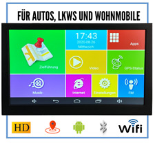 Android Navigationsgerät 9 Zoll Wifi Navi Navigation Radarwarner Auto Tablet Gps