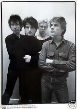 "U2 ""South Kensington London 1979"" Poster -Young Shot Of The Group From ""Boy"" Era"