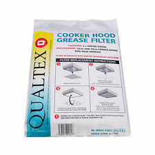 Cooker Hood Grease Filter  For Beko Extractor Hoods Cut To Size 47cm x 57cm