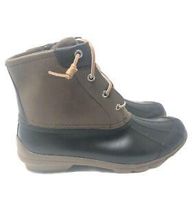 Sperry Topsider Womens 9 M Syren Gulf Duck Boot Brown NIB