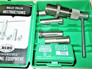 RCBS BULLET PULLER WITH 5 COLLETS