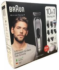 Braun 10-in-1 Hair Trimmer MGK7221 Beard Trimmer for Men, Body Grooming Kit