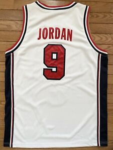 Nike Authentic 1992 Olympic Dream Team USA Michael Jordan Jersey Large New Tags