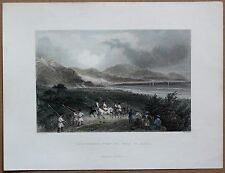 1837 Bartlett print ISKENDERUN, FROM THE ROAD TO ISSUS, HATAY; TURKEY (#9)