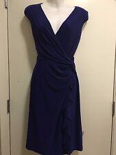 Ralph Lauren Blue  Dress Sz 8