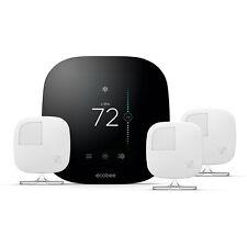 Ecobee termostato Inteligente E 3 Sensores De Quarto, funciona com Alexa
