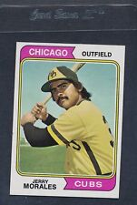 1974 Topps #258 Jerry Morales Cubs NM *532