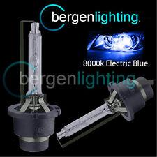 2X 8000K D4S XENON HEADLIGHT BULBS ELECTRIC BLUE FOR LEXUS GS GS300 GS350