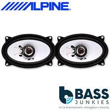 """Alpine SXE-4625S Car Stereo 4""""x6"""" Inch 300 Watts 2 Way Door Coaxial Speakers"""