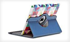 Kolorfish 360 Degree Rotation iClass Leather Case For Apple iPad Air 2 --Blue