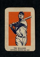 1952 Wheaties Ted Williams EX/EX+ A4859
