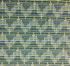 DURALEE JOHN ROBSHAW WOVEN UPHOLSTERY FABRIC 15446-72 CHADAR BLUE/GREEN 4 YARDS