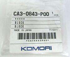 New Genuine Oem Komori Block Ca3 0843 P00 Offset Printing Press Part Printer
