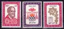 1961  BELGIQUE    Y & T   N° 1188 à 1190   Neufs*  AVEC CHARNIÈRE