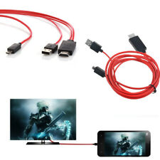 MHL Micro USB HDMI AV TV Adapter Cable Cord For Samsung Galaxy S3 SPH-L710 Phone