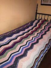 Coperta,copertina, della nonna, crochet ,uncinetto,granny square,picc vintage