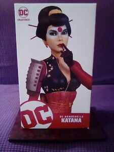 DC Collectibles Bombshells Katana Statue #4840 of 5000