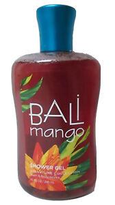 Bath & Body Works BALI MANGO Bath Shower Gel 10oz  Signature Body Wash Retired