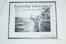 WW2 German Battleship Scharnhorst The Crew Photo Album Reference Book
