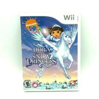 Dora the Explorer: Dora Saves the Snow Princess - Nintendo Wii Game - Complete