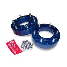 "Spidertrax 1.25"" Wheel Spacers - Dark Blue (Pair)"
