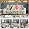 1/2/3 Seater Sofa Slipcover Cover Pet Furniture Sofa Protector Throw Anti Slip