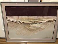 Patrick McNurney Signed Original Untitled Abstract Art