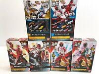 Power Rangers Lupinranger vs Patoranger Yu-Do Minifigura 6 Caja Set Nuevo Bandai