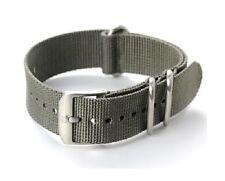 OEM Luminox 22mm Watch Band NAVY SEAL Colormark EVO Nylon Grey 3000 3950 3050
