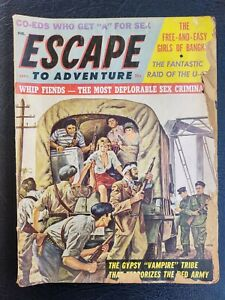 ESCAPE TO ADVENTURE 1963 Vampire Tribe Red Army Torture Spanking Slave Girls