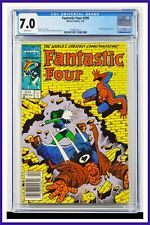 Fantastic Four #299 CGC Graded 7.0 Marvel 1987 Newsstand Edition Comic Book.